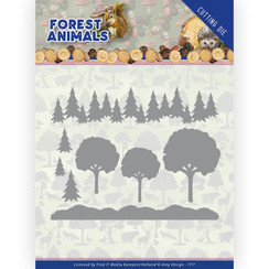 ADD10232 - Mal - Amy Design  Forest Animals - In the Forrest