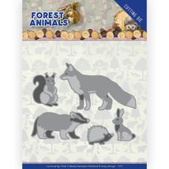 ADD10234 - Mal - Amy Design  Forest Animals - Forest Animals 2