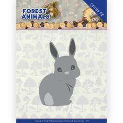 ADD10235 - Mal - Amy Design  Forest Animals - Bunny HZ+ Die