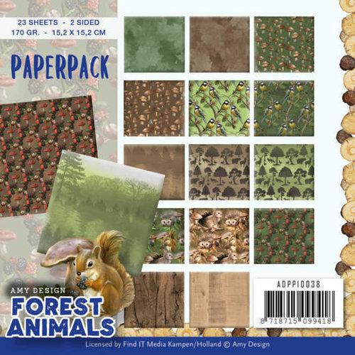 Amy Design ADPP10038 - Papierpak - Amy Design  Forest Animals