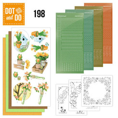 DODO198 - Dot and Do 198 - Jeanine's Art - Welcome Spring