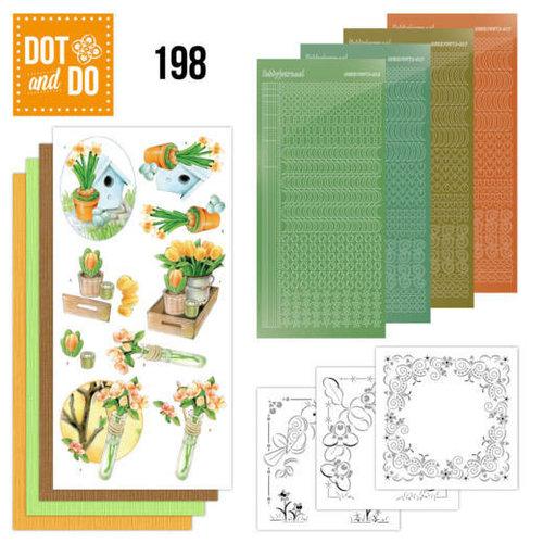 Dot en Do DODO198 - Dot and Do 198 - Jeanine's Art - Welcome Spring