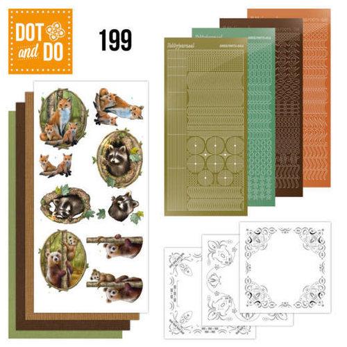 Dot en Do DODO199 - Dot and Do 199 - Amy Design - Forest Animals