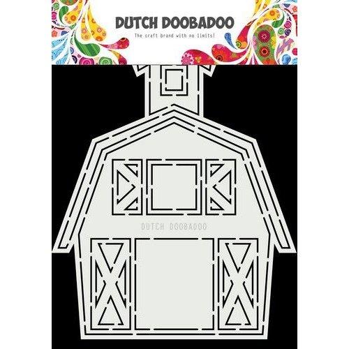 Dutch Doobadoo Dutch Card Art A5 Barn -Stal 470.713.851 14,8x18,5cm