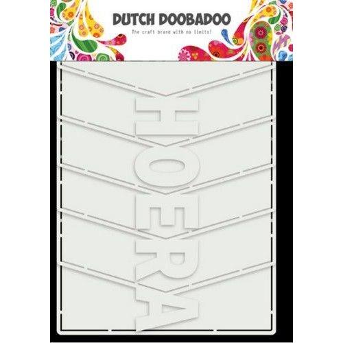 Dutch Doobadoo Dutch Card Art Hoera Album 6 St (NL) 470.713.857 21x14,8cm