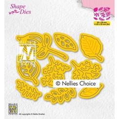 Nellies Choice Shape Die - Bladeren set SD201 25x35mm