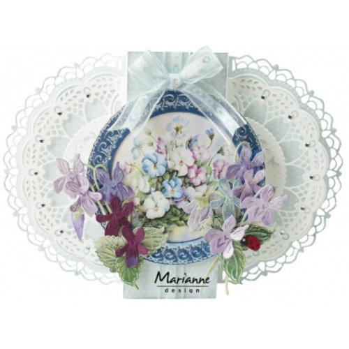 Marianne Design LR0701 - Petra's Gate Folding Floral