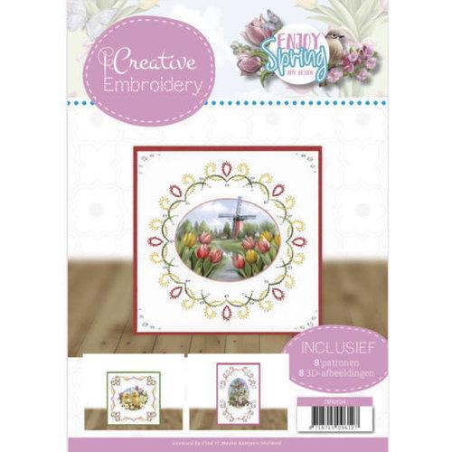 Amy Design CB10024 - Creative Embroidery 24 - Amy Design - Enjoy Spring