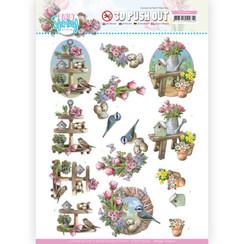 SB10541 - HJ19301 - Uitdrukvel - Amy Design - Enjoy Spring - Spring Decorations