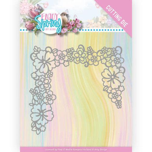 Amy Design ADD10237 - Mal  - Amy Design - Enjoy Spring - Flower Edge