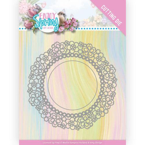 Amy Design ADD10238 - Mal - Amy Design - Enjoy Spring - Flower Circle