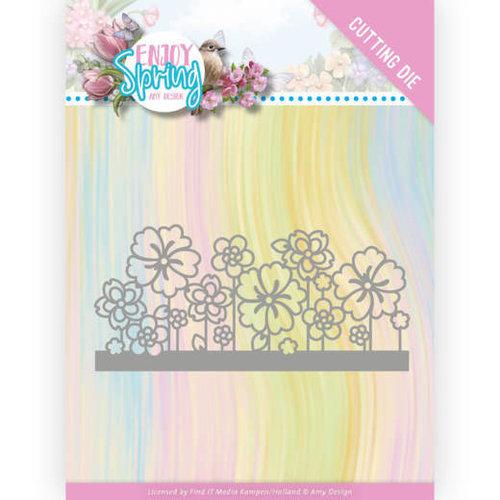 Amy Design ADD10240 - Mal - Amy Design - Enjoy Spring - Flower Border