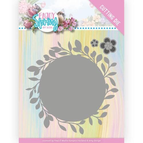 Amy Design ADD10241 - Mal - Amy Design - Enjoy Spring - Leaf Circle