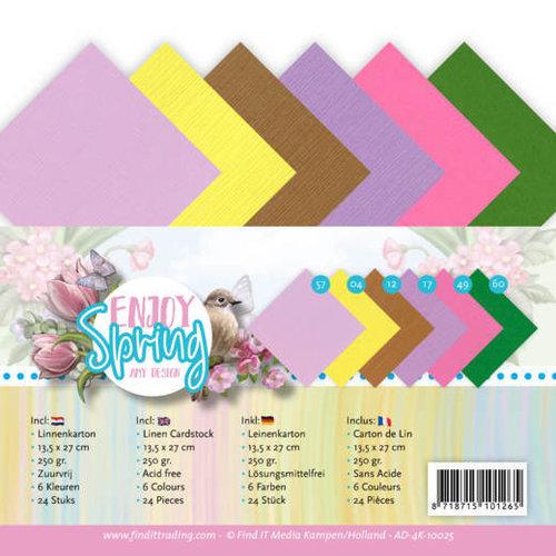 Amy Design AD-4K-10025 - Linnen karton - 4K - Amy Design - Enjoy Spring