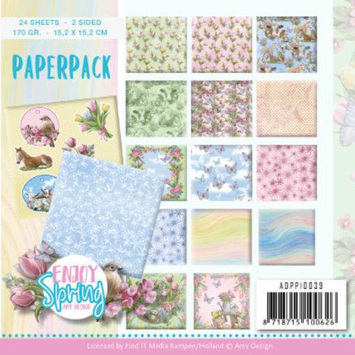Amy Design ADPP10039 - Papierpak - Amy Design - Enjoy Spring