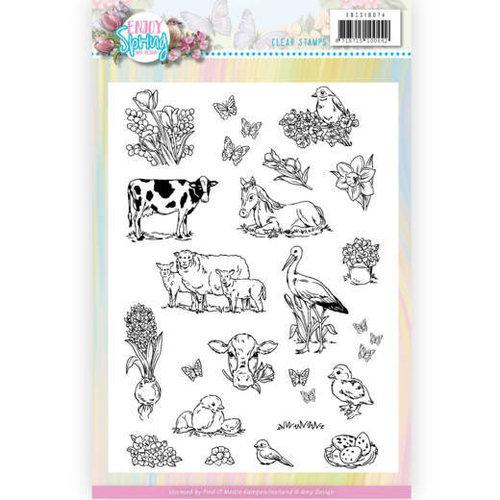 Amy Design ADCS10074 - Stempeltjes - Amy Design - Enjoy Spring