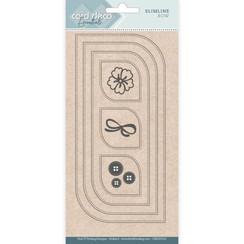 CDECD0102 - Card Deco Essentials - Slimline Dies - Slimline Bow