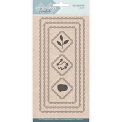 CDECD0101 - Card Deco Essentials - Slimline Dies - Slimline Leaf
