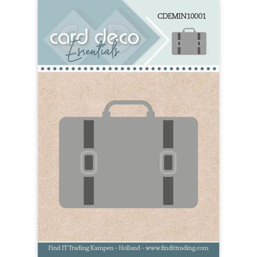 Card Deco CDEMIN10001 - Card Deco Essentials - Mini Dies - Suitcase