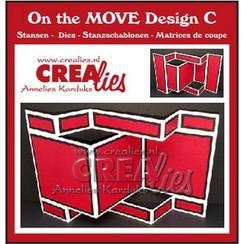 Crealies On The Move Design C CLMOVE03 13,5 x 27 cm