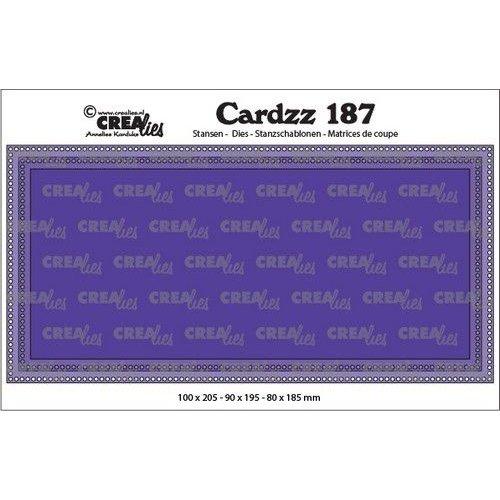 Crealies Crealies Cardzz Slimline G Gaatjes CLCZ187 max. 10 x 20,5 cm