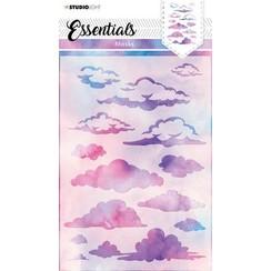Studio Light Mask Achtergrond wolken Essentials nr.29 SL-ES-MASK29 A5