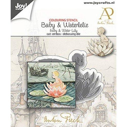 Joy!Crafts Joy! Crafts Snij-debos-embosstansmal - Anton Pieck - Baby 1 6002/1611 71x45mm