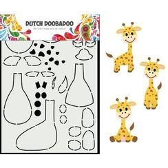 Dutch Doobadoo Dutch Card Art Built up Giraf A5 470.713.864 210x148,55mm