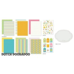Dutch Doobadoo Crafty Kit A5 - Paashazen 473.005.007
