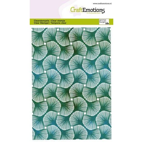 CraftEmotions CraftEmotions clearstamps A6 - Bladpatroon GB
