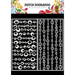 Dutch Doobadoo Mask Art Slimline Groovy Cirkels 470.715.821 210x210mm