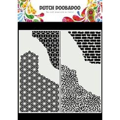 Dutch Doobadoo Mask Art Slimline Gebarsten patronen 470.715.822 210x210mm
