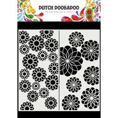 Dutch Doobadoo Mask Art Slimline Bloemen 470.715.823 210x210mm