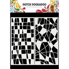 Dutch Doobadoo Mask Art Slimline Mozaiek lijnen 470.715.824 210x210mm