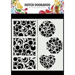 Dutch Doobadoo Mask Art Slimline Cirkels 470.715.825 210x210mm