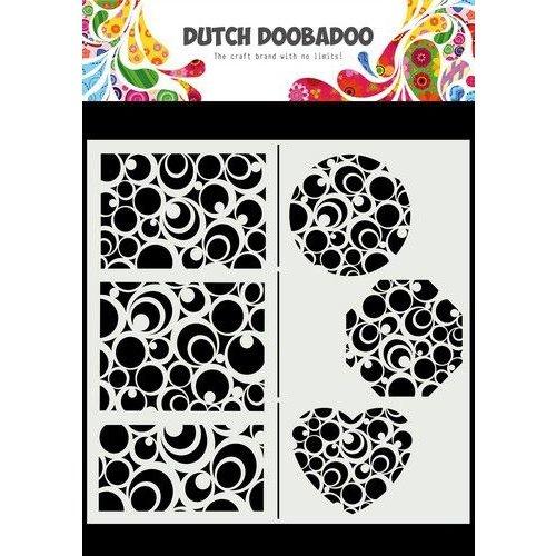 Dutch Doobadoo Dutch Doobadoo Mask Art Slimline Cirkels 470.715.825 210x210mm