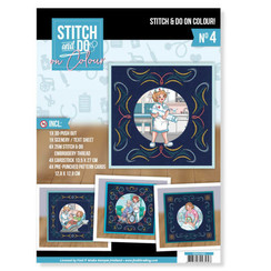 STDOOC10004 - Stitch and Do on Colour 004 - Yvonne Creations - Bubbly Girls Professions