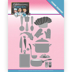 YCD10236 - Mal - Yvonne Creations - Bubbly Girls - Professions - Kitchen Staff