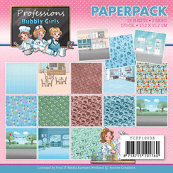 YCPP10038 - Papierpak - Yvonne Creations - Bubbly Girls - Professions