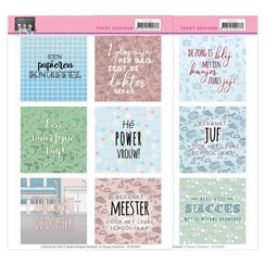 YCTD1007 - Tekst Designs - Yvonne Creations - Bubbly Girls - Professions