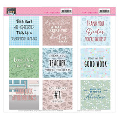 YCTD1008 - Text Designs -Yvonne Creations - Bubbly Girls - Professions