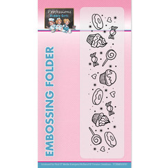 YCEMB10010 - Embossingfolder - Yvonne Creations - Bubbly Girls - Professions