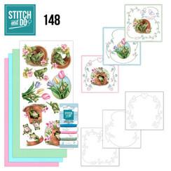 STDO148 - Stitch en Do 148 - Amy Design - Friendly Frogs