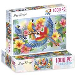 ADPZ1005 - Jigsaw puzzel 1000 stukjes  - Amy Design -Parrots