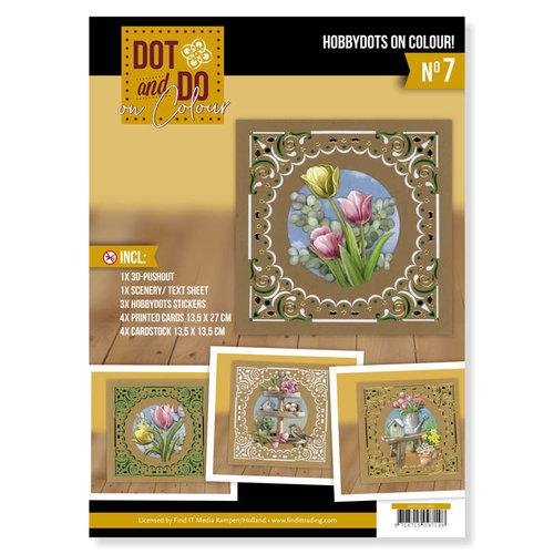 DODOOC10007 - Dot and Do on Colour 7 - Amy Design - Enjoy Spring