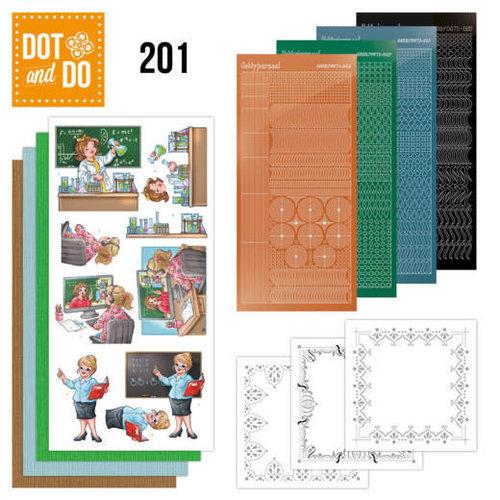 Dot en Do DODO201 - Dot en Do 201 - Yvonne Creations - Bubbly Girls - Professions