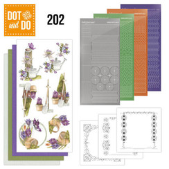 DODO202 - Dot and Do 202 - Precious Marieke - Beautiful Garden - Butterfly