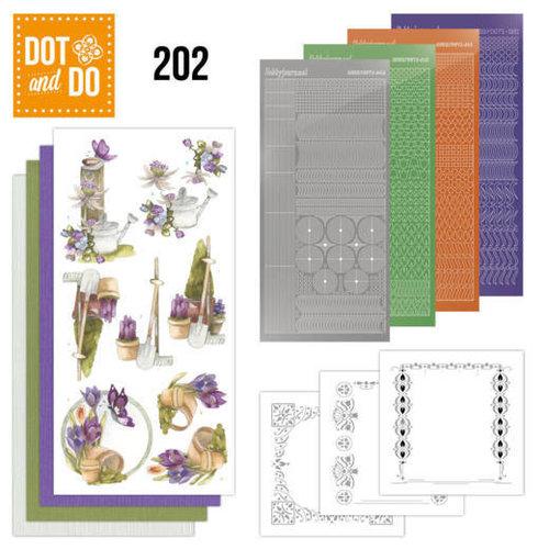 Dot en Do DODO202 - Dot and Do 202 - Precious Marieke - Beautiful Garden - Butterfly