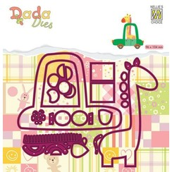 Nellie's Choice DADA Die - Giraffe in auto DDD025-opruiming