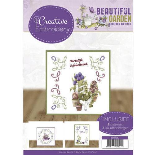 CB10025 - Creative Embroidery 25 - Precious Marieke - Beautiful Garden